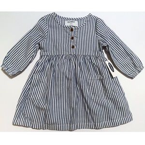 NWT Old Navy Pinstriped Dress 18-24 Months
